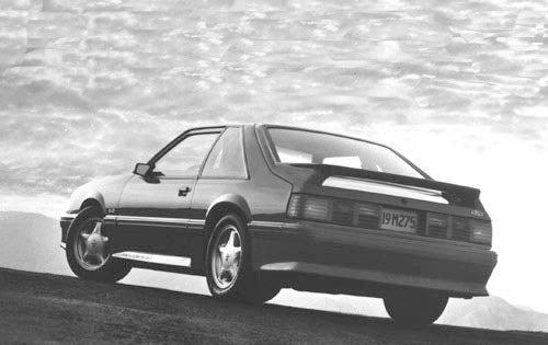 1992 ford mustang 2dr hatchback gt rq oem 1 500