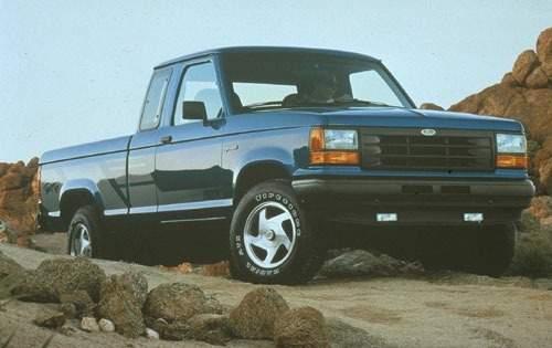 1992 ford ranger extended cab pickup stx fq oem 1 500