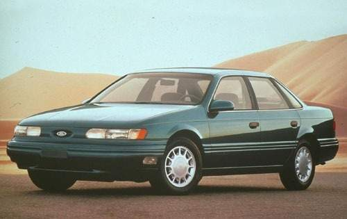 1992 ford taurus sedan lx fq oem 1 500