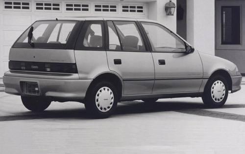 1992 geo metro 4dr hatchback lsi rq oem 1 500