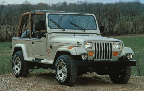 1992 jeep wrangler convertible suv sahara fq oem 1 500