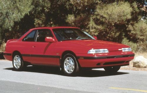 1992 mazda mx 6 coupe gt fq oem 1 500