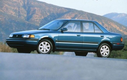 1992 mazda protege sedan lx fq oem 1 500