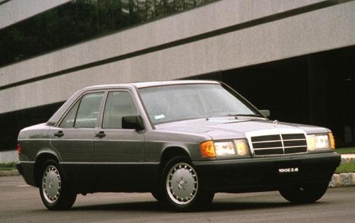 1992 mercedes benz 190 class sedan 190e 26 fq oem 1 500