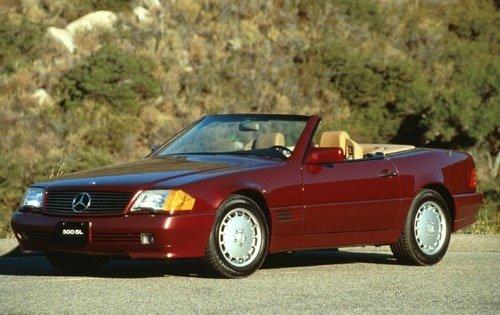 1992 mercedes benz 500 class convertible 500sl fq oem 1 500