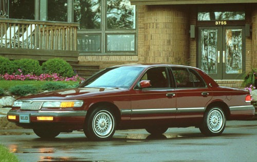 1992 mercury grand marquis sedan ls fq oem 1 500