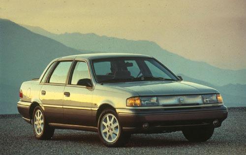1992 mercury topaz sedan gs fq oem 1 500