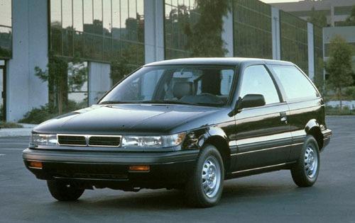 1992 mitsubishi mirage 2dr hatchback vl fq oem 1 500