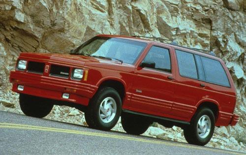 1992 oldsmobile bravada 4dr suv base fq oem 1 500