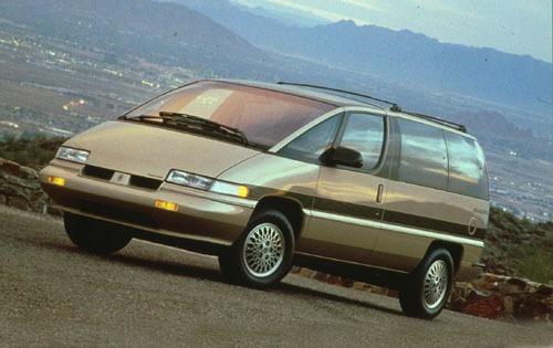 1992 oldsmobile silhouette passenger minivan base fq oem 1 500