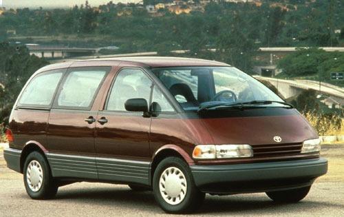 1992 toyota previa passenger minivan deluxe fq oem 1 500