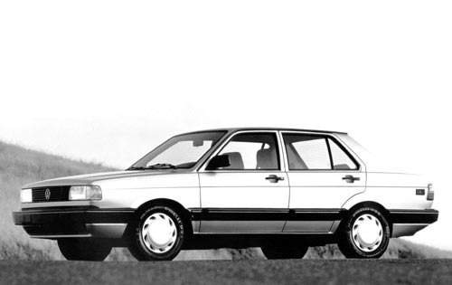 1992 volkswagen fox sedan gl fq oem 1 500
