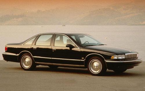 1993 chevrolet caprice sedan ls fq oem 1 500