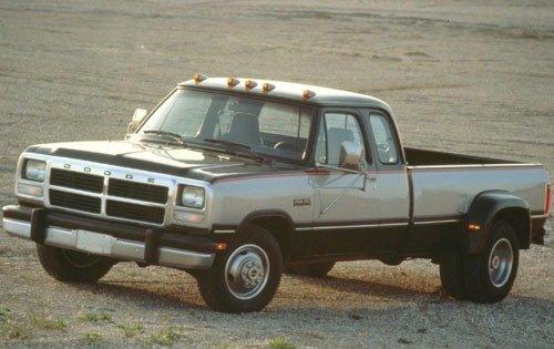1993 dodge ram 350 extended cab pickup le fq oem 1 500