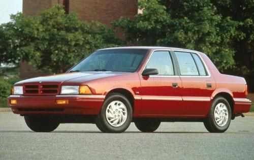 1993 dodge spirit sedan es fq oem 1 500