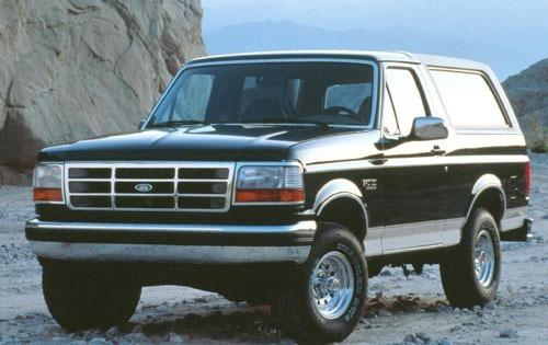 1993 ford bronco 2dr suv eddie bauer fq oem 1 500
