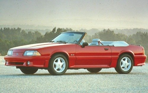1993 ford mustang convertible gt fq oem 1 500