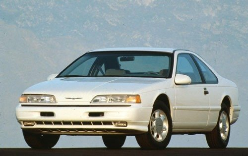 1993 ford thunderbird coupe lx fq oem 1 500