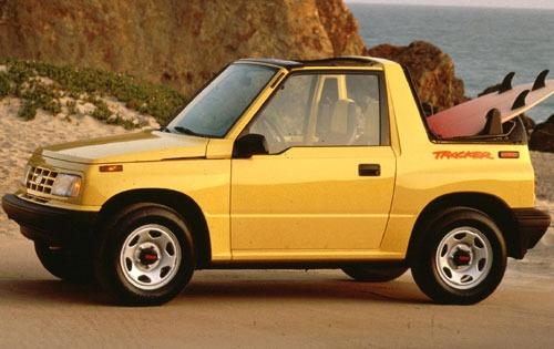 1993 geo tracker convertible suv base wsoft top fq oem 1 500