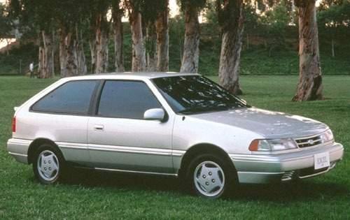 1993 hyundai excel 2dr hatchback base fq oem 1 500