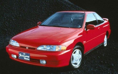 1993 hyundai scoupe coupe base fq oem 1 500