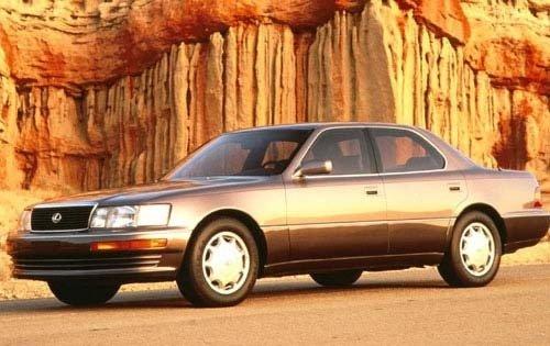 1993 lexus ls 400 sedan base fq oem 1 500
