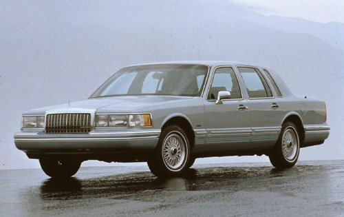 1993 lincoln town car sedan executive fq oem 1 500
