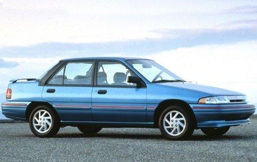 1993 mercury tracer sedan lts fq oem 1 500