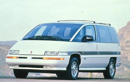 1993 oldsmobile silhouette passenger minivan base fq oem 1 500