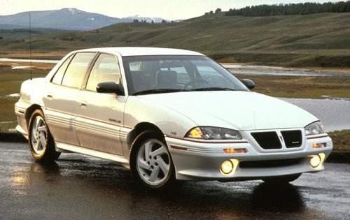 1993 pontiac grand am sedan gt fq oem 1 500