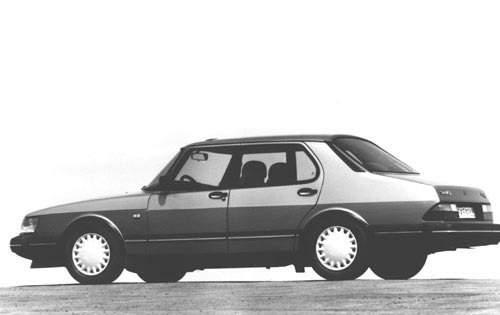1993 saab 900 sedan s rq oem 1 500
