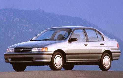 1993 toyota tercel sedan le fq oem 1 500
