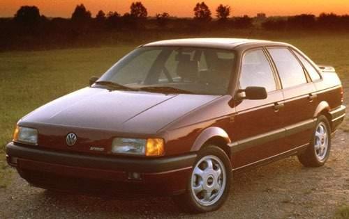1993 volkswagen passat sedan glx v6 fq oem 1 500
