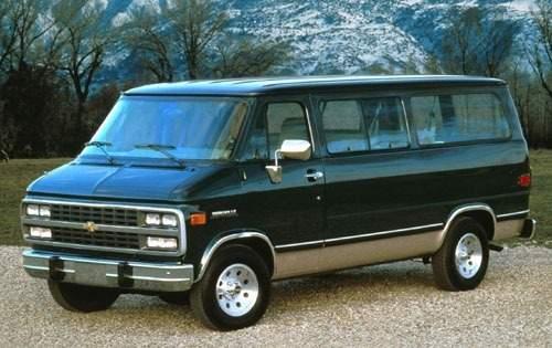 1994 chevrolet sportvan passenger van g30 beauville fq oem 1 500