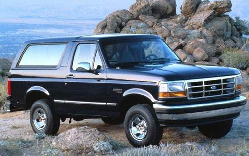 1994 ford bronco 2dr suv xlt fq oem 1 500