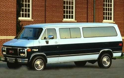 1994 gmc rally wagon passenger van g35 fq oem 1 500
