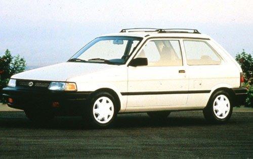 1994 subaru justy 2dr hatchback dl fq oem 1 500