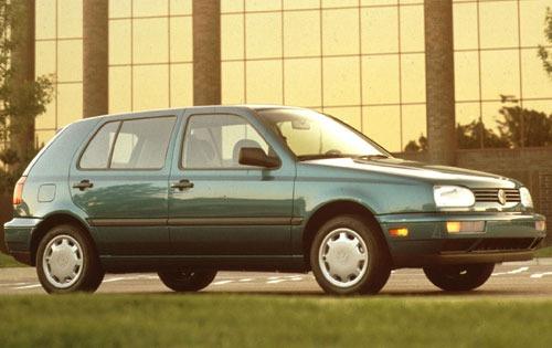 1994 volkswagen golf 4dr hatchback gl fq oem 1 500