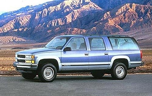 1995 chevrolet suburban 4dr suv 2500 fq oem 1 500
