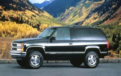 1995 chevrolet tahoe 2dr suv lt fq oem 1 500