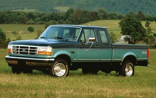 1995 ford f 150 extended cab pickup xlt fq oem 1 500