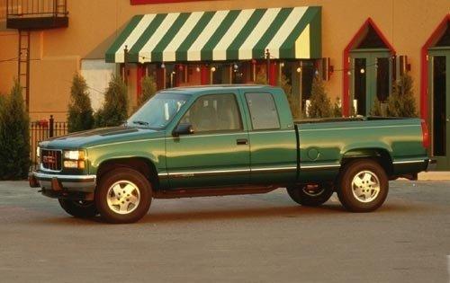 1995 gmc sierra 1500 extended cab pickup slt fq oem 2 500