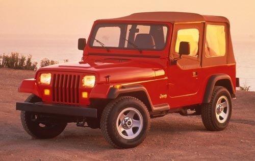 1995 jeep wrangler convertible suv rio grande fq oem 1 500
