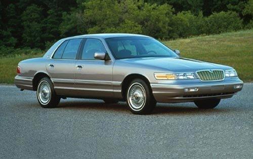 1995 mercury grand marquis sedan ls fq oem 1 500