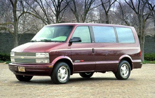1996 chevrolet astro passenger minivan lt fq oem 1 500
