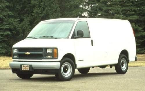 1996 chevrolet chevy van cargo van g2500 fq oem 1 500