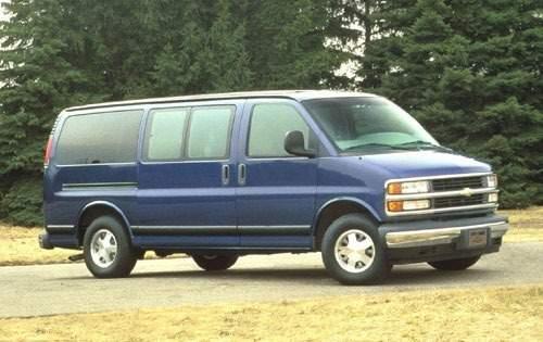 1996 chevrolet express passenger van g2500 fq oem 1 500