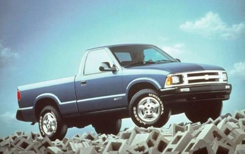 1996 chevrolet s 10 regular cab pickup ls fq oem 1 500