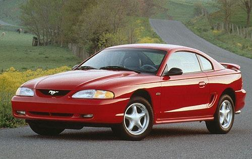 1996 ford mustang coupe gt fq oem 1 500