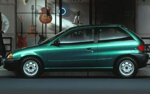 1996 geo metro 2dr hatchback base s oem 1 500